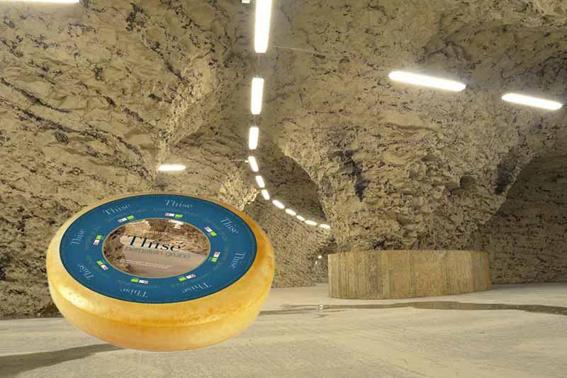 Thise mejeri økologisk ost i Hjerm kalkgruber
