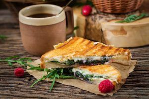 Toast med Cheddar ost